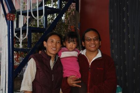 Ngakpa Karma Lhundup Rinpoche and family